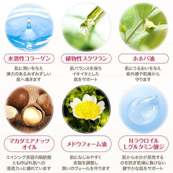 6種の美容成分