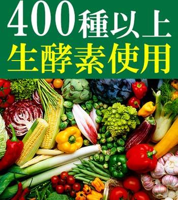 400種類以上の生酵素